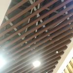 商場木紋吊頂鋁方通商場倣木方通