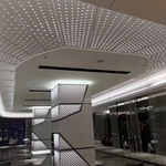 吊頂吸音鋁單板衝孔排列衝圓孔鋁板