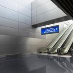 地鐵鋁天花板鏤空造型地鐵鋁單板